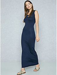 cheap -BENEVOGA Women's Sophisticated Street chic Bodycon Shift Sheath Dress - Solid Colored