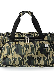 cheap -Nylon Geometric Travel Bag Pattern / Print for Outdoor Spring & Summer Army Green