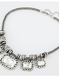 preiswerte -Anhängerketten - Tropfen Süß, Elegant Weiß 46 cm Modische Halsketten Für Hochzeit, Party