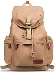 cheap -Unisex Bags Backpack Zipper for Casual Outdoor All Seasons Brown Dark Brown