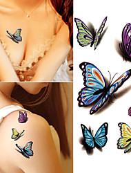 Недорогие -10 pcs Временные тату Временные татуировки Мультипликационные серии Искусство тела рука