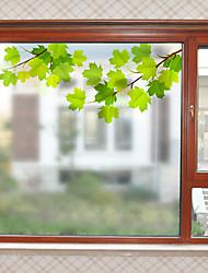 Недорогие -Оконная пленка и наклейки Украшение Современный Простой ПВХ Стикер на окна / Матовая