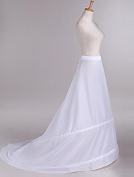cheap -Wedding Party Slips Taffeta Floor-length Classic Style Solid Color with Sash / Ribbon Gore Bandage