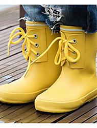 povoljno -Djevojčice Dječaci Cipele Guma Proljeće Jesen Čizme za kišu Čizme Čizme do pola lista za Vanjski Dark Blue Crvena Bijela