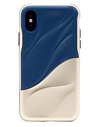 Недорогие -Кейс для Назначение Apple iPhone X iPhone 8 Защита от удара Матовое Кейс на заднюю панель броня Твердый ПК для iPhone X iPhone 8 Pluss