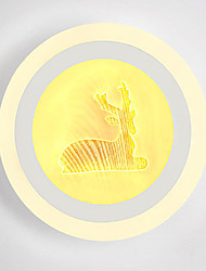 cheap -Novelty Picture Wall Lights Bedroom / Study Room / Office / Indoor Metal Wall Light 220-240V 13W