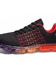 Недорогие -Муж. Тюль / Ткань Весна / Лето Удобная обувь Спортивная обувь Беговая обувь Черный / Серый / Черный / Красный