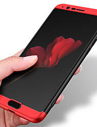 Недорогие -Кейс для Назначение Huawei Honor View 10(Honor V10) Honor V9 Защита от удара Матовое Чехол Однотонный Твердый ПК для Honor 9 Honor 8
