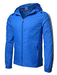 cheap -Men's Active Basic Jacket - Solid Colored