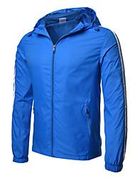 Недорогие -Муж. Куртка Активный Классический - Однотонный