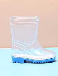 Недорогие -Мальчики / Девочки Обувь Кожа ПВХ  Весна Резиновые сапоги Ботинки для Пурпурный / Синий