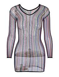 abordables -Nuisette & Culottes Vêtement de nuit Femme - Maille, Arc-en-ciel