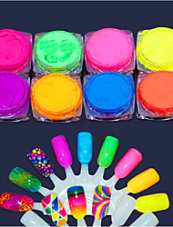 cheap -8pcs Tool Bags Glamorous Glitter Art Supplies Nail Art Tips Nail Art Design