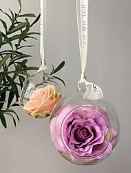 Недорогие -Искусственные Цветы 1 Филиал Для вечеринки Свадьба Розы Корзина Цветы