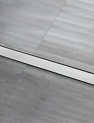 Недорогие -Слив Высокое качество Modern Нержавеющая сталь 1 комплект - Гостиничная ванна Аксессуары Kit Установка на полу