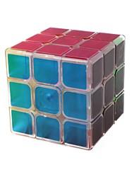 baratos -Rubik's Cube 1 peças QI YI D0907 Rainbow Cube 3*3*3 Cubo Macio de Velocidade Cubos mágicos Cubo Mágico Brilho Moda Dom Unisexo