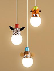 baratos -OYLYW 3-luz Grupo Luzes Pingente Luz Ambiente - Estilo Mini, 220-240V, Branco Quente / Branco, Lâmpada Incluída / 5-10㎡