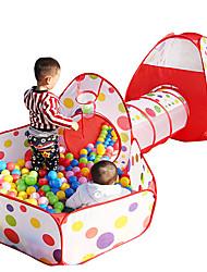 economico -Tende e tunnel per bambini Classico Interazione tra genitori e figli squisito Simulazione Unisex Per bambini Regalo 3pcs