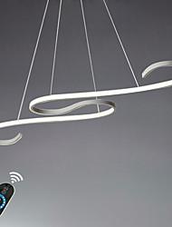 abordables -UMEI™ Linéaire Lustre Lumière d'ambiance - Ajustable, Intensité Réglable, 110-120V / 220-240V, Dimmable avec télécommande, Source / FCC