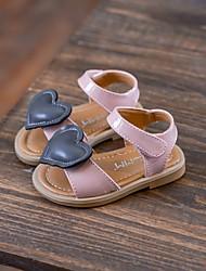 povoljno -Djevojčice Cipele PU Ljeto Cipele za bebe Sandale za Kauzalni Crn Pink
