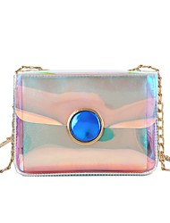 cheap -Women's Bags Shoulder Bag Buttons for Casual Blue / Wine