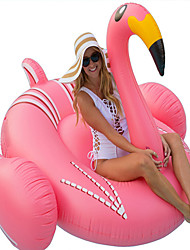 cheap -Flamingo Inflatable Pool Float Donut Pool Float Outdoor PVC / Vinyl 1pcs Kid's Adults' All