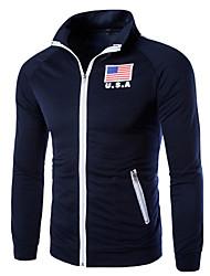 povoljno -Muškarci Aktivan Sportska majica Geometrijski oblici