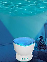 Недорогие -Calming Autism Sensory LED Light LED освещение Лампа-проектор Романтика Стресс и тревога помощи Пластиковый корпус Подарок