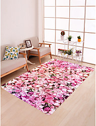 cheap -Doormats / Bath Mats / Area Rugs Sports & Outdoors / Modern Flannelette, Rectangle Superior Quality Rug / Non Skid