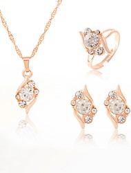 cheap -Women's Jewelry Set - Drop Sweet, Fashion Include Gold For Wedding / Party