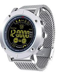 Недорогие -JSBP EX19 Многофункциональные часы Смарт Часы Android iOS Bluetooth Контроль APP Израсходовано калорий Работает с системами iOS и Android. Напоминание о сообщении / Таймер / Секундомер / Педометр