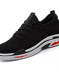povoljno -Muškarci Cipele Til Mreža Ljeto Svjetleće tenisice Udobne cipele Sneakers Staze i igrališta Tenis Trčanje za Kauzalni Vanjski Obala Crn