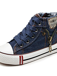 cheap -Boys' / Girls' Shoes Canvas Spring / Fall Comfort Sneakers for Dark Blue / Dark Red / Light Blue