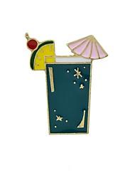 Недорогие -Жен. Броши - чашка, Parrot Классический, Мода Брошь Белый / Лиловый / Зеленый Назначение Повседневные / Свидание
