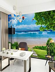abordables -Mural Toile Revêtement - adhésif requis arbres / Feuilles Décoration artistique 3D
