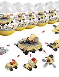 abordables -Blocs de Construction 230pcs Militaire Soulagement de stress et l'anxiété / Interaction parent-enfant Tank Cadeau