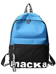 preiswerte -Damen Taschen Segeltuch Rucksack Reißverschluss für Normal Rote / Grau / Braun
