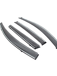 preiswerte -4pcs Auto Deflektoren und Schilde transparente Gürtelschnalle / Art der Aufhängung For Autofenster For Buick Vorstellen Alle Jahre