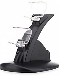 Недорогие -PS4 USB Кронштейн ручки Зарядные устройства Назначение PS4,ABS Кронштейн ручки Зарядные устройства Автоматическое конфигурирование # USB