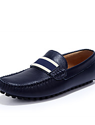 abordables -Homme Chaussures Cuir Nappa Printemps Automne Confort Mocassins et Chaussons+D6148 Ruban pour Décontracté Bureau et carrière Noir Beige
