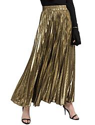 povoljno -Žene A kroj Aktivan Sofisticirano Suknje - Jednobojni