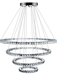 cheap -Chandelier Ambient Light - Crystal Dimmable LED Dimmable With Remote Control, Tiffany Country Traditional / Classic Modern / Contemporary