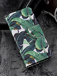 cheap -Case For Huawei P20 / P20 lite Wallet / Card Holder / with Stand Full Body Cases Plants / Tree Hard PU Leather for Huawei P20 / Huawei