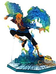 billiga -Anime Actionfigurer Inspirerad av One Piece pvc 16 cm CM Modell Leksaker Dockleksak