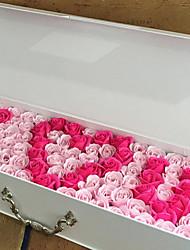 Недорогие -Искусственные Цветы 1 Филиал Вечеринка / Свадьба Розы Букеты на стол