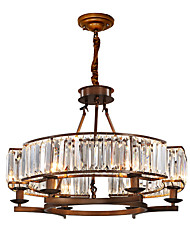 povoljno -ZHISHU Priroda / Zemlja Lusteri Ambient Light - Crystal / Mini Style / Prilagodljiv, 110-120V / 220-240V Bulb Included