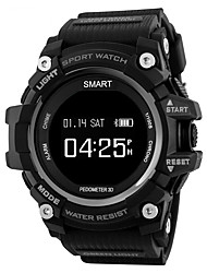 cheap -Smartwatch ST1 for Android 4.3 and above / iOS 7 and above Touch Screen / Heart Rate Monitor / Water Resistant / Water Proof Activity
