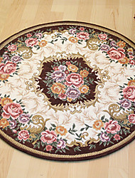 cheap -Bath Mats Casual / Country Polyster, Rectangle Superior Quality Rug / Non Skid
