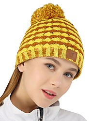 cheap -VEPEAL Skull Cap Beanie Winter Keep Warm / Windproof / Stretchy Hiking / Traveling / Walking Women's Acrylic Patchwork