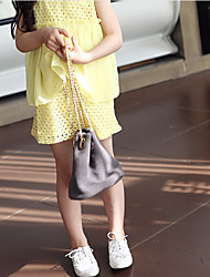 preiswerte -Kinder Mädchen Solide Patchwork Ärmellos Bluse